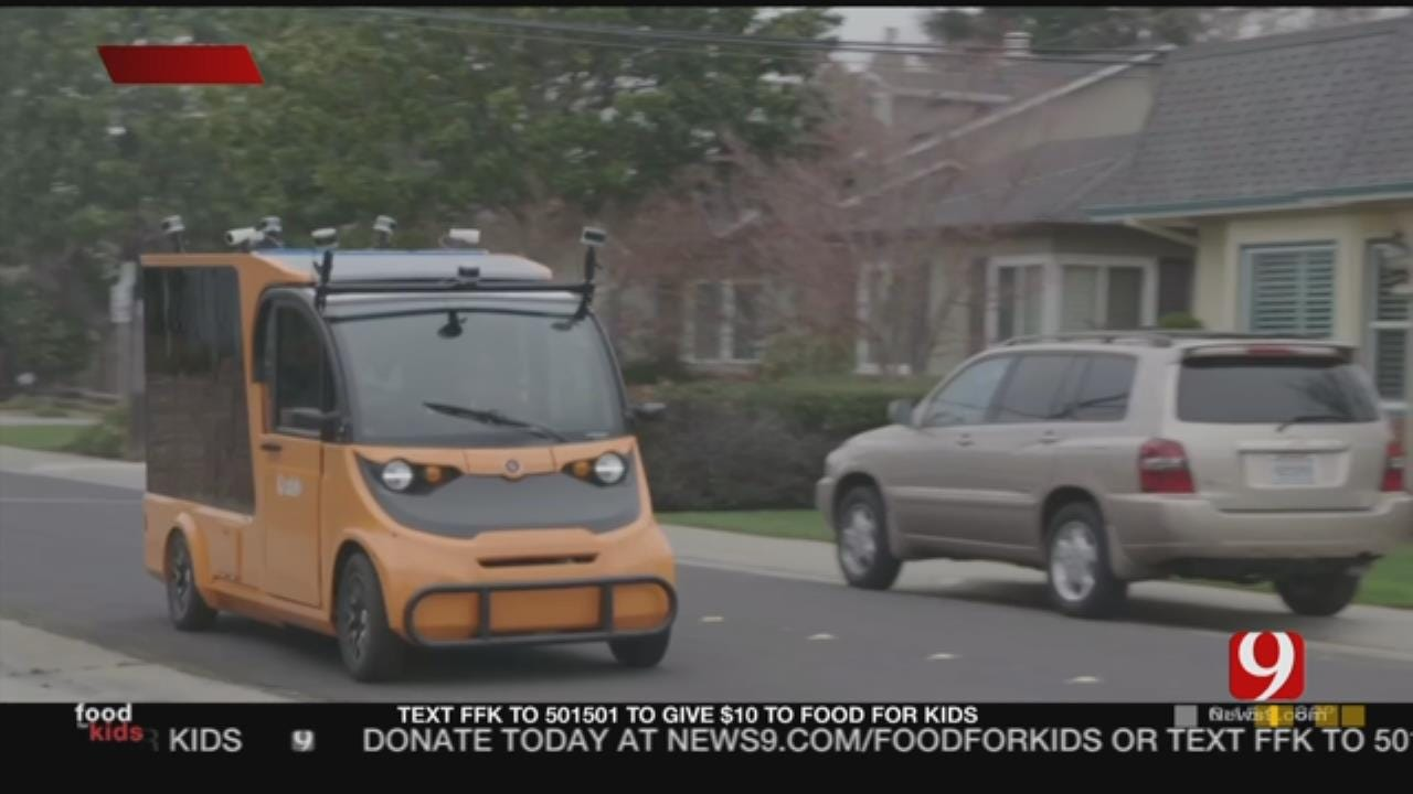 Self-Driving Grocery Delivery Trucks Coming To OKC Metro