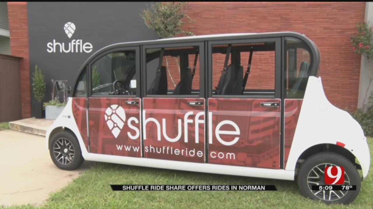 New Ride Share Service 'Shuffles' Students Across OU Campus