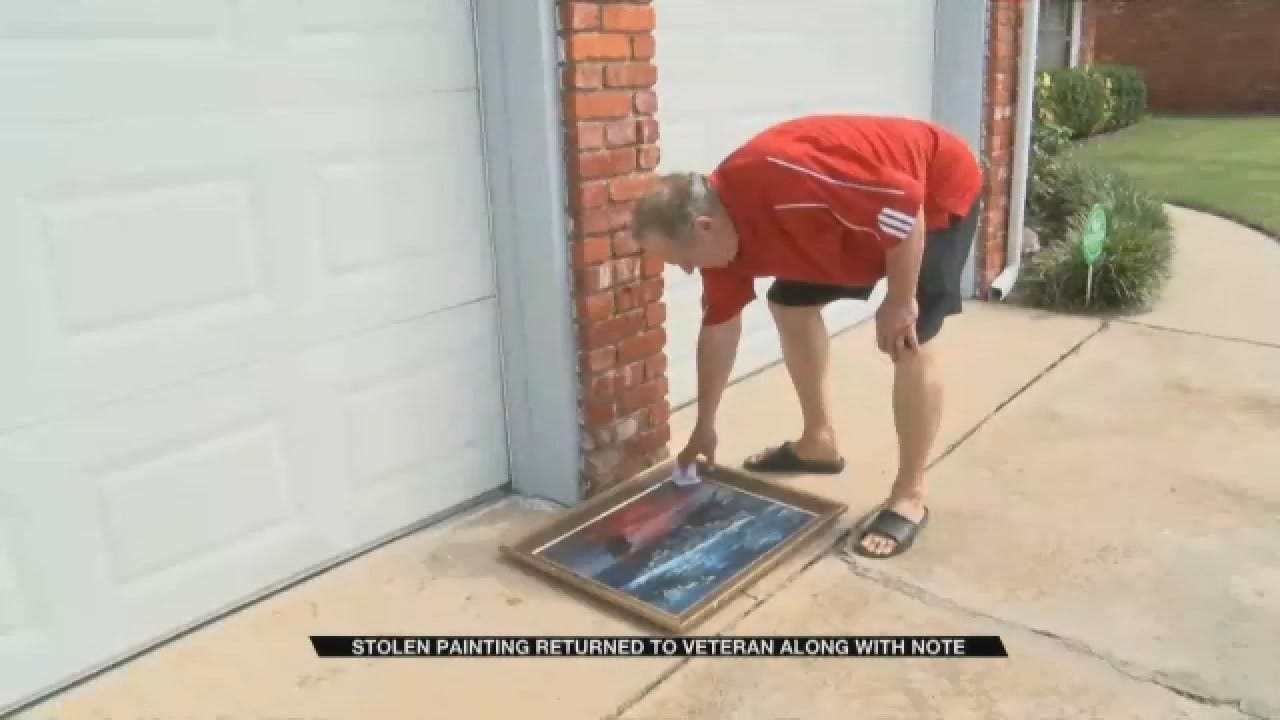 Thief Returns Priceless Painting To Veteran With Apology Note