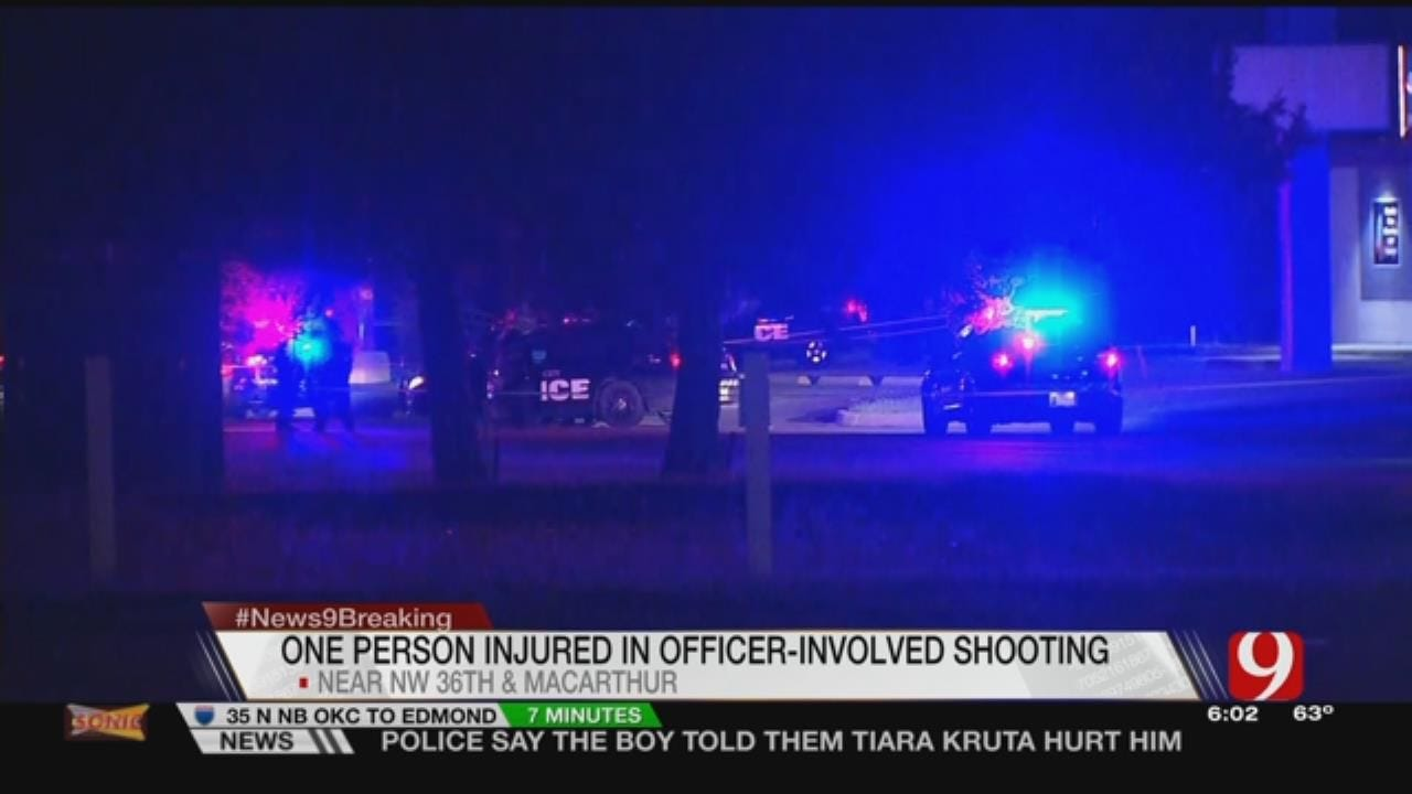 Traffic Stop Ends In Officer-Involved Shooting In Warr Acres