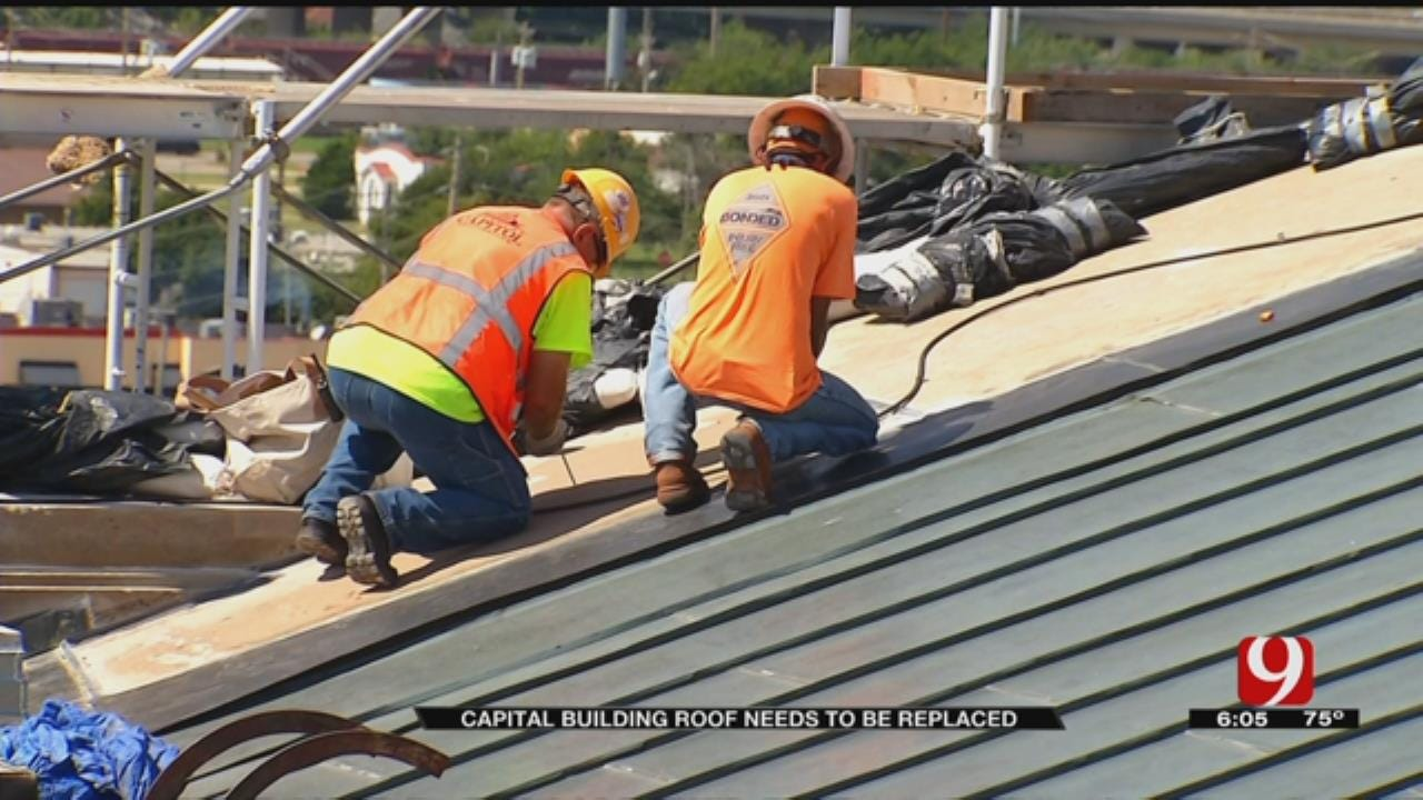 State Capitol Roof To Be Replaced