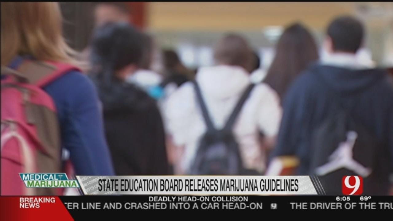 State Education Board Releases Medical Marijuana Guidelines