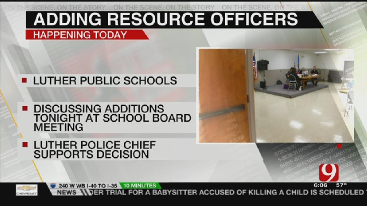 Luther School Board Considers Adding School Resource Officer