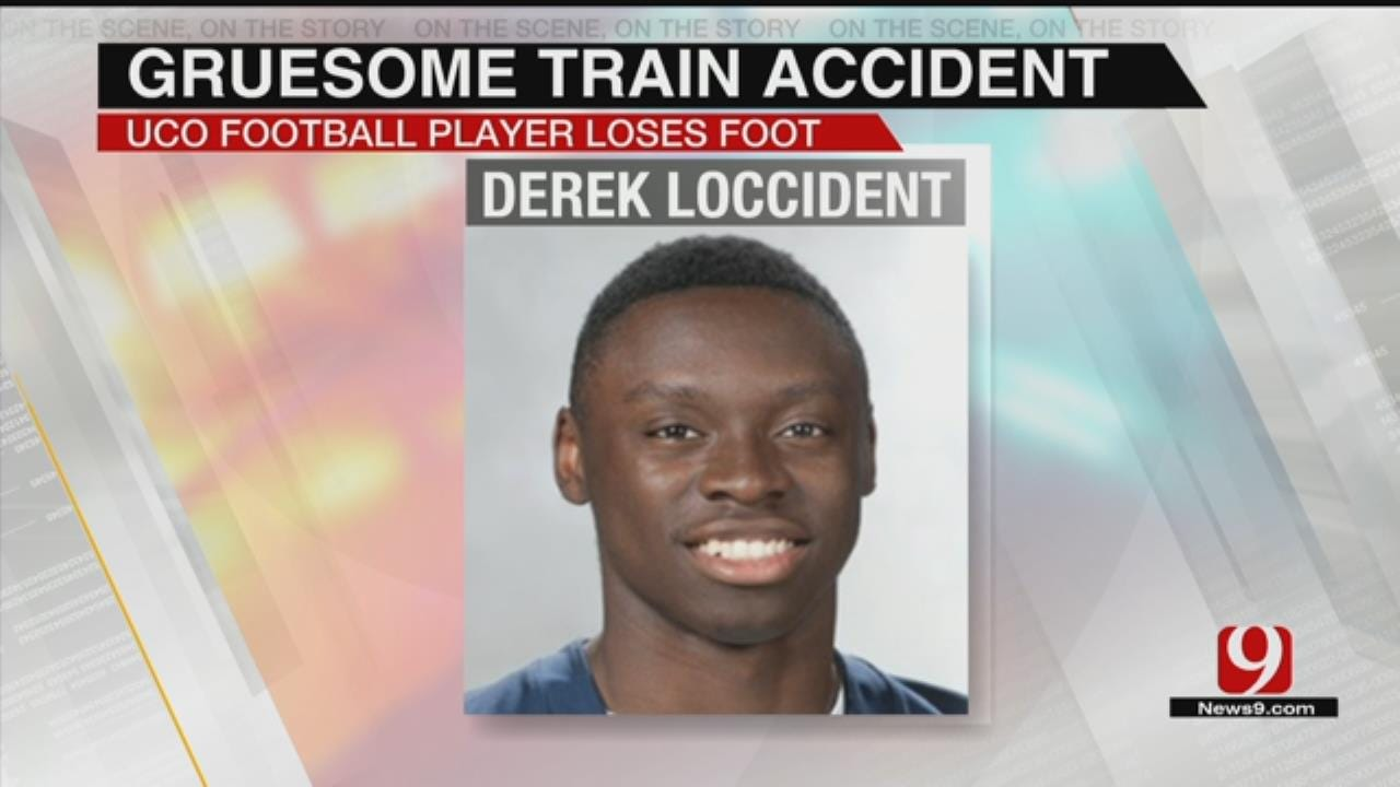 UCO Football Player Loses Foot In Downtown OKC Train Accident