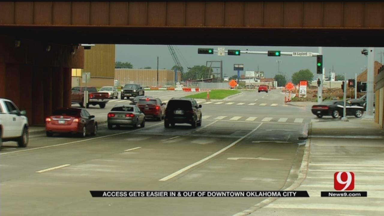 Oklahoma City Boulevard Project Making Progress In Downtown OKC