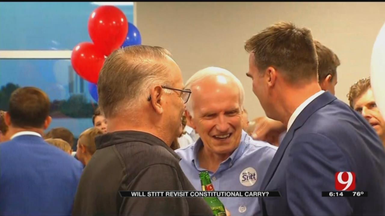 Gubernatorial Candidate Kevin Stitt Shares Stance On Oklahoma Gun Laws