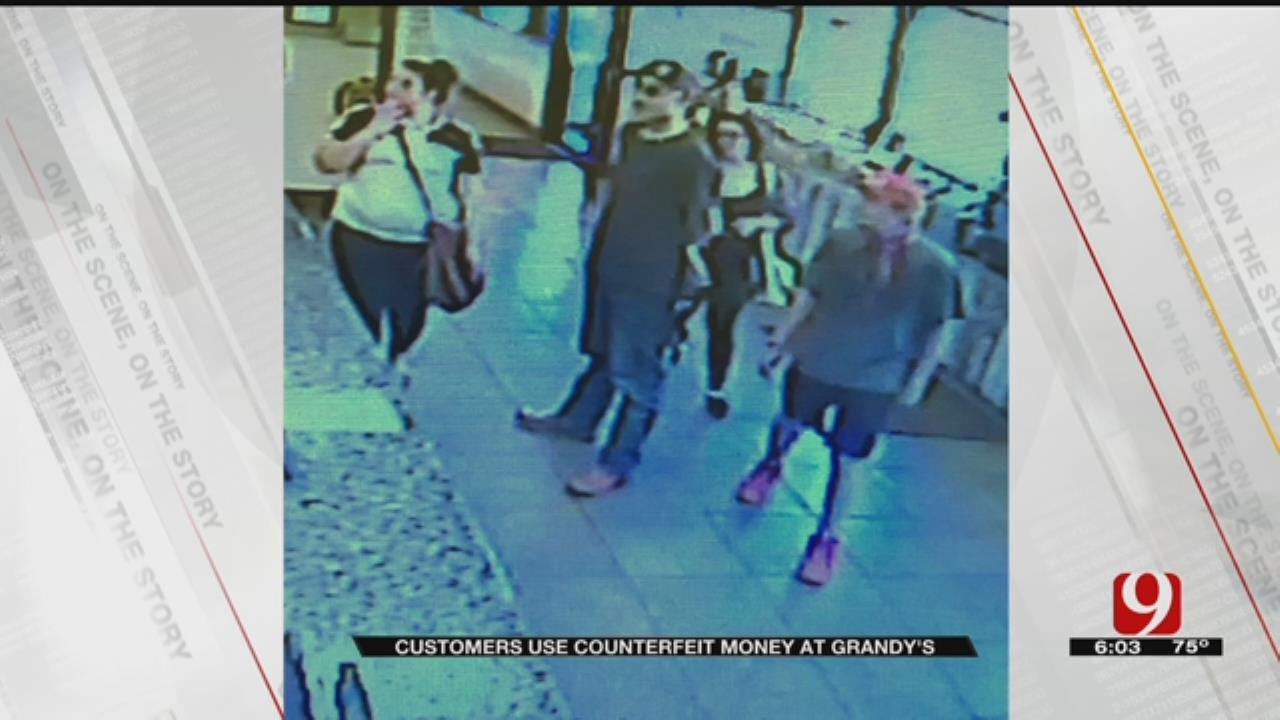 4 Customers Accused Of Using Counterfeit Money At Moore Grandy's