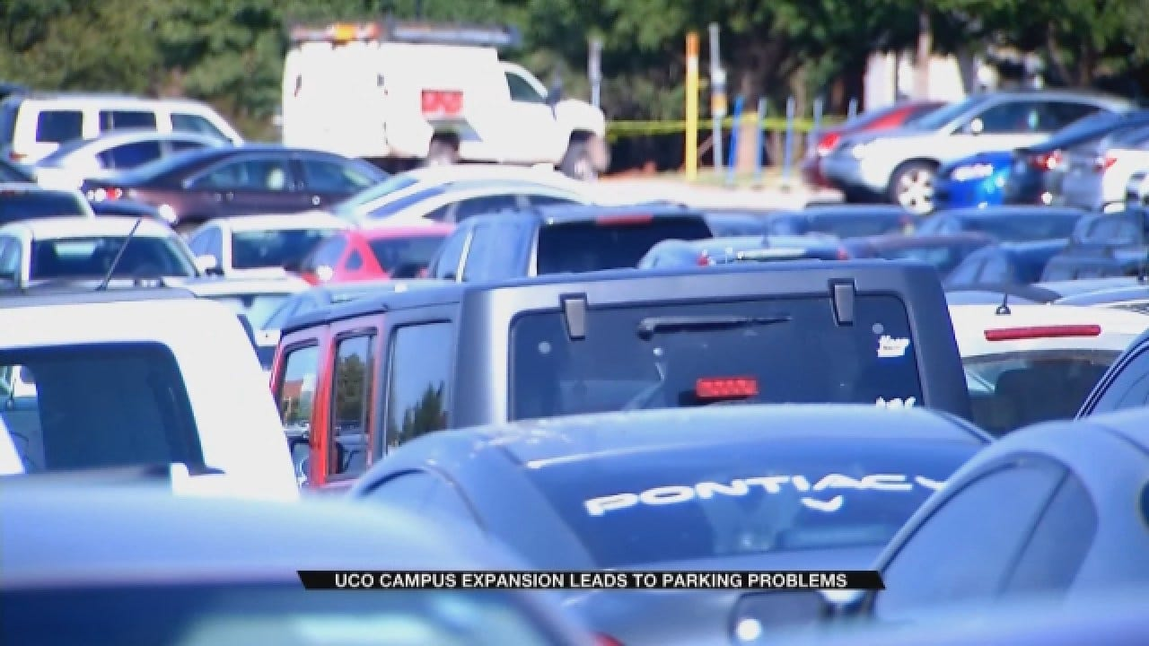 UCO Campus Expansion Leads To Parking Problems