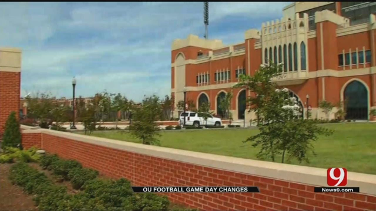 OU Football Game Day Changes At Gaylord Family Memorial Stadium