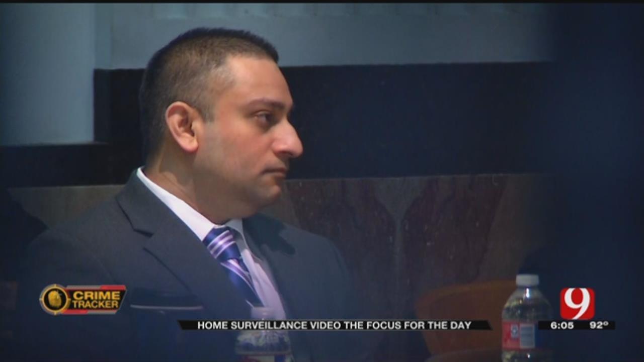 Home Surveillance Re-enacted For Jurors In Bert Franklin Murder Case