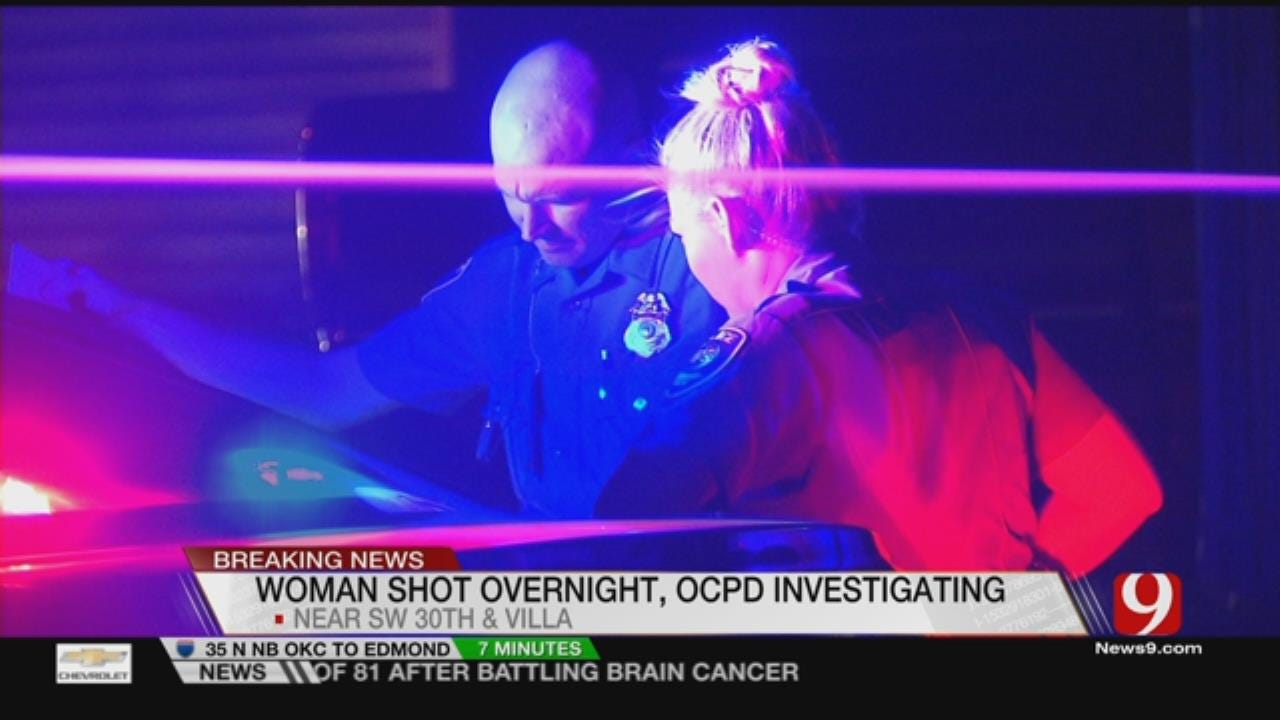 Woman Hospitalized After Shooting In SW OKC