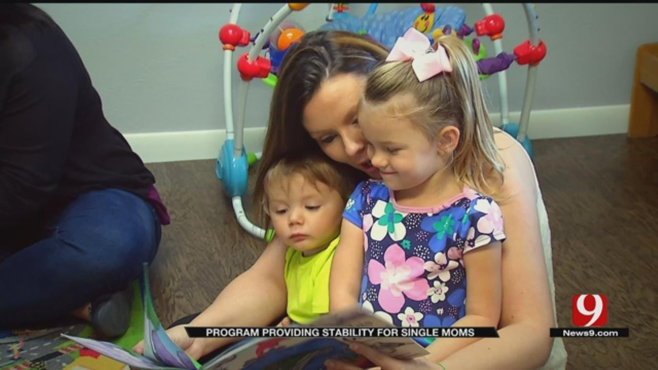 OKC Program Providing Stability For Single Moms