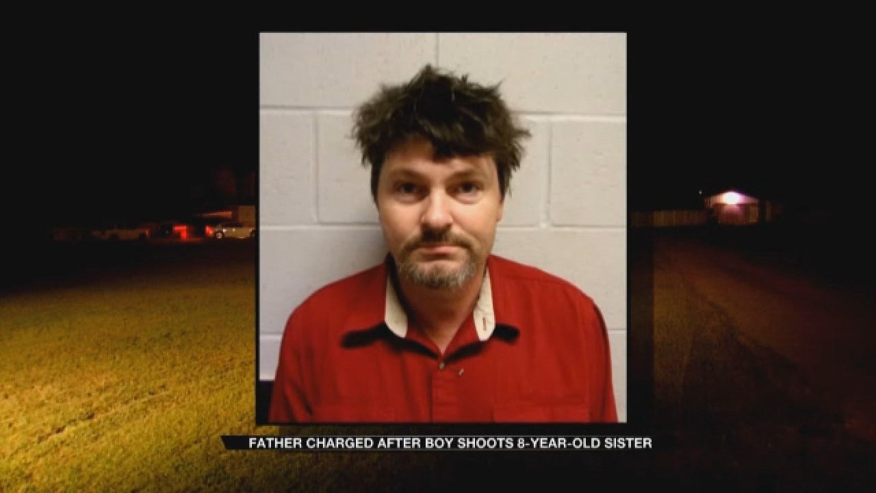 Father Charged After Boy Shoots 8-Year-Old Sister