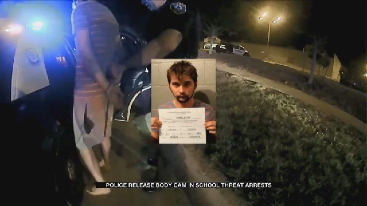 Man Threatens Metro Middle School, Arrest Caught On Body Camera Footage