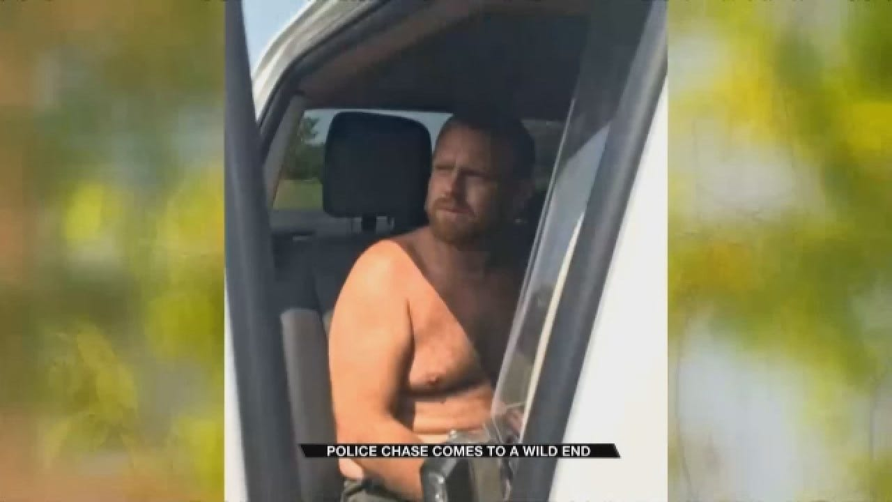 Deputies Search for Accused Thieves in Pottawatomie County