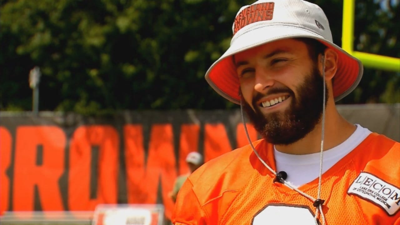 Raw Video: Extended Interview With Baker Mayfield