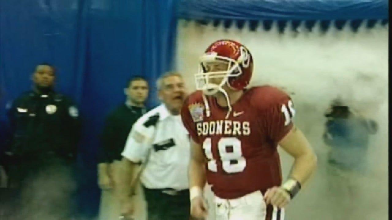 2003 Heisman Winner Jason White, OU Quarterback