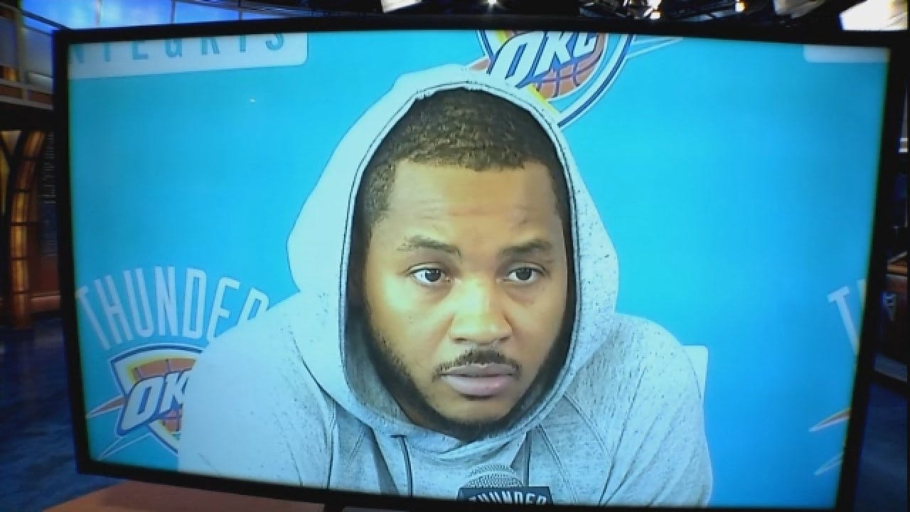 Is Carmelo Anthony Willing To Come Off The Bench?