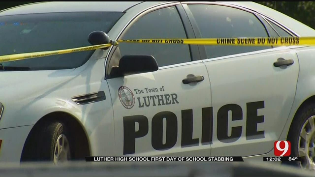 Girl Stabbed At Luther High School