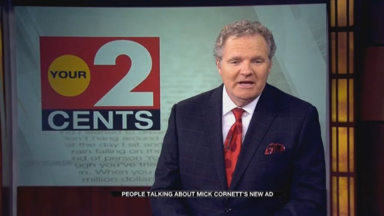 Your 2 Cents: Gubernatorial GOP Candidate Mick Cornett's New Ad