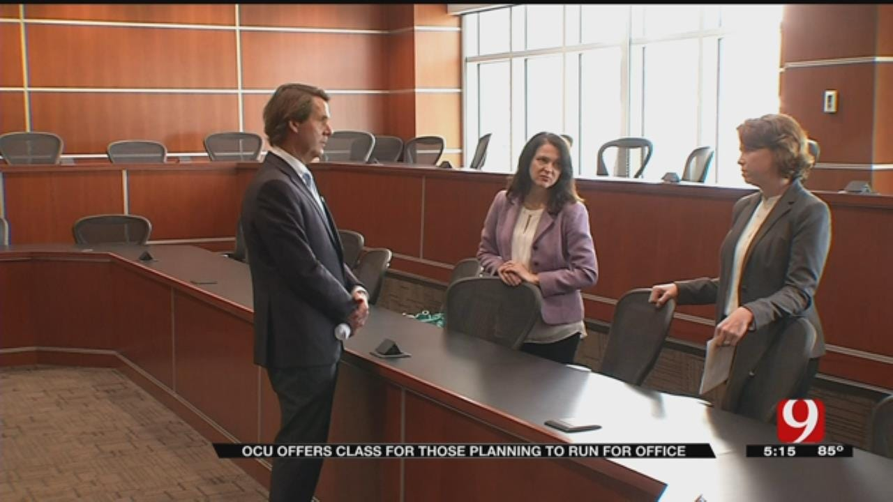 OCU Offers A Class For Potential Civic Leaders