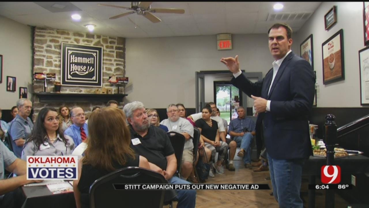 OK GOP Gubernatorial Candidate Believes Being An Outsider Is His Advantage