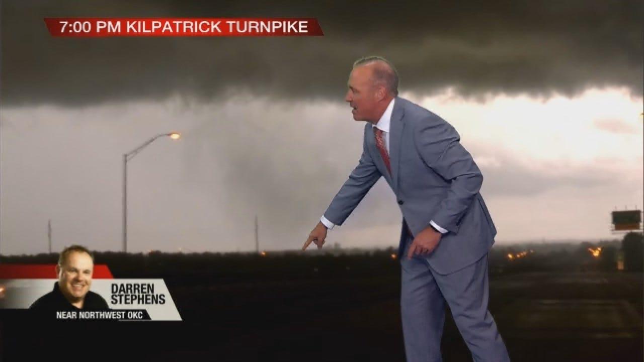 Brief Tornado Spins Up Near Northwest Oklahoma City