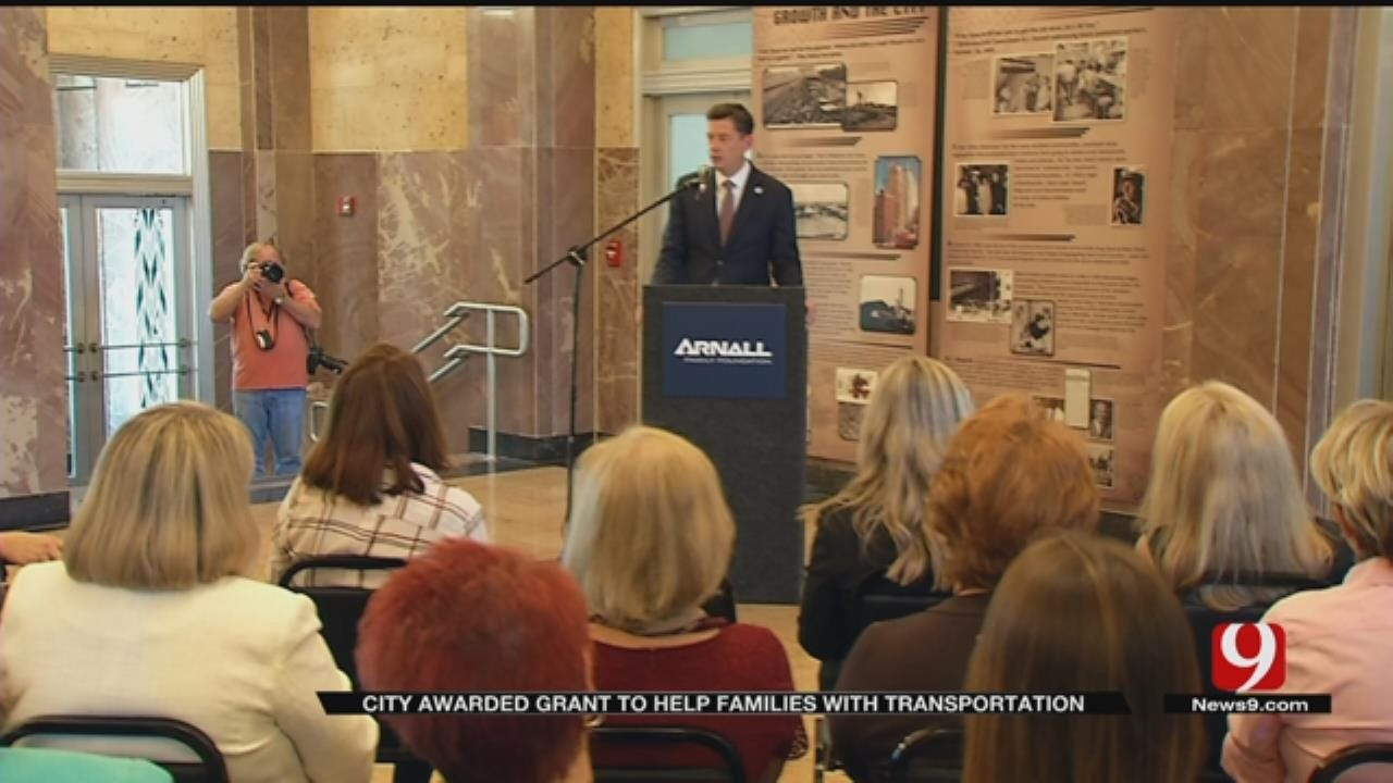 OKC Awarded $1M Grant To Help Families With Transportation