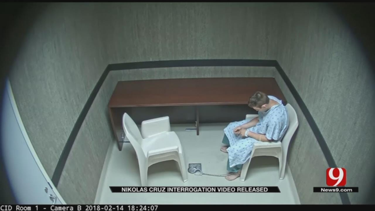 Florida Authorities Release Interrogation Video Of Parkland Shooter Nikolas Cruz