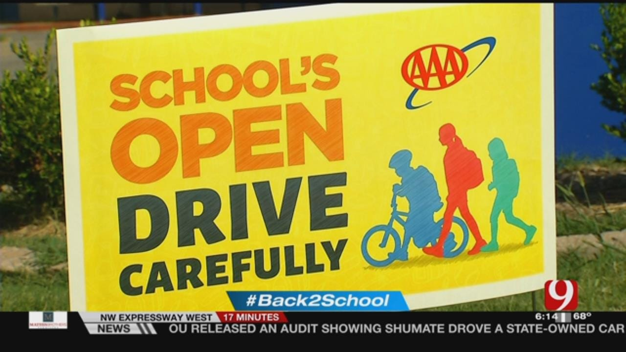 AAA's School Zone Safety Reminder