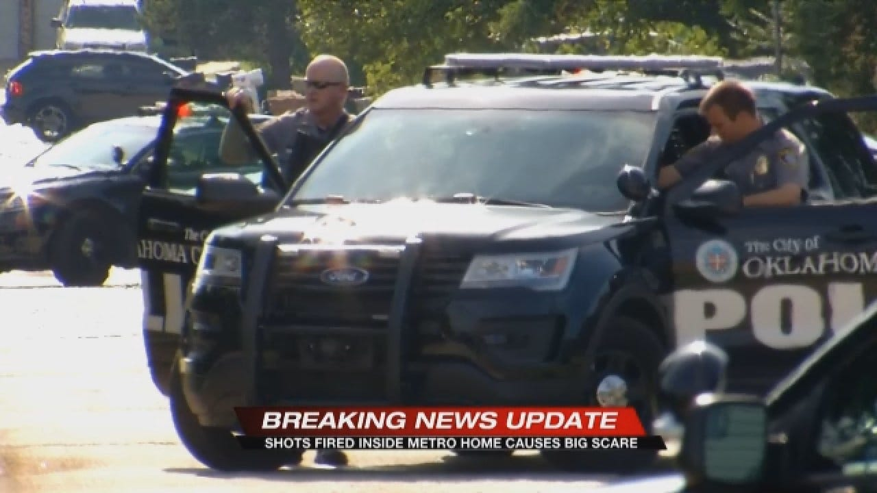 Shots Fired Inside Home Causes Big Scare In SW OKC – Sylvia