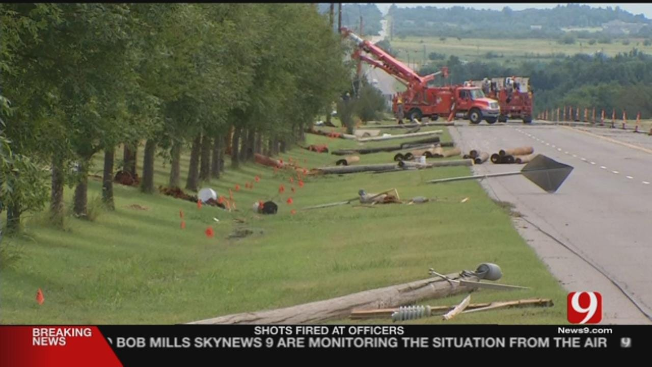 Strong Storms Leave Behind Damage In Piedmont