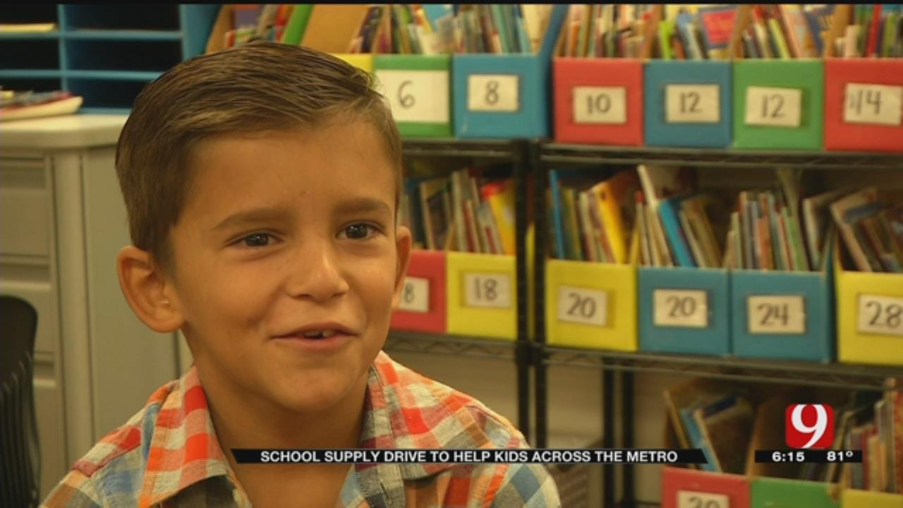 'Stuff Our Bus' School Supply Drive To Help Mid-Del Elementary Schools