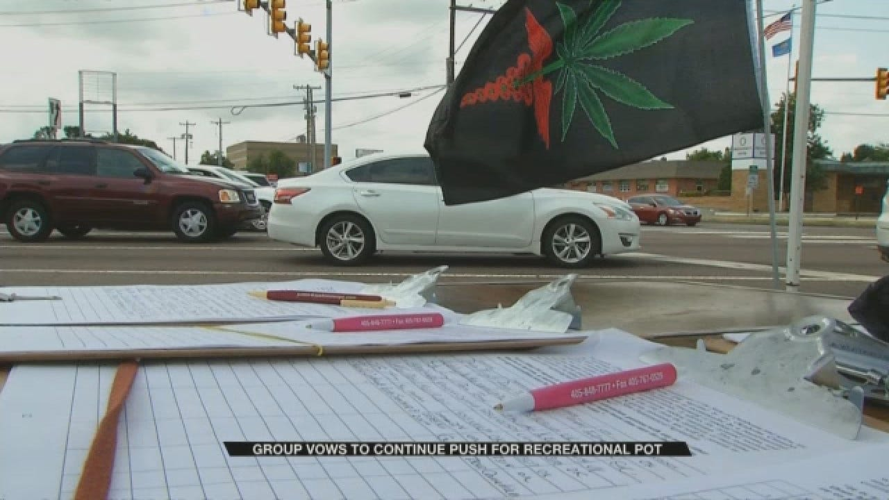 Group Vows To Continue Push For Recreational Pot Amid Controversy