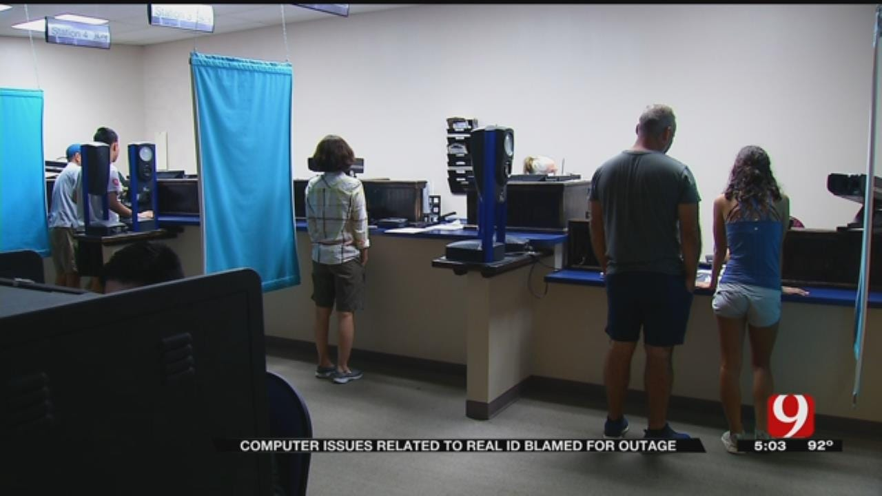 DPS: Computer Issues Related To Real ID Blamed For Outage