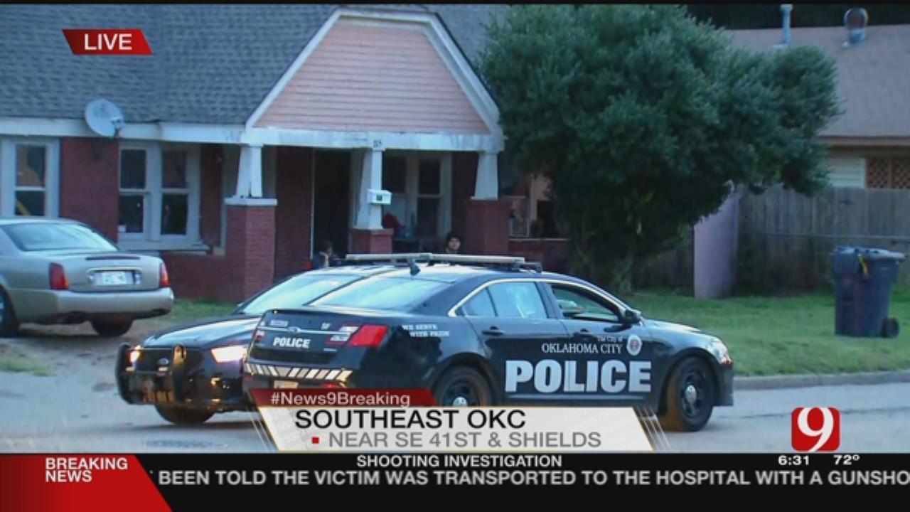 Police Investigate Shooting In SE OKC
