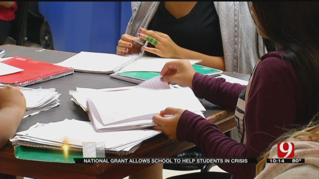 National Grant Allows School To Help Students In Crisis