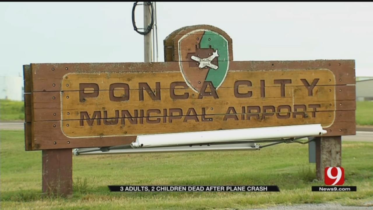Ponca City Community Responds To Fatal Plane Crash