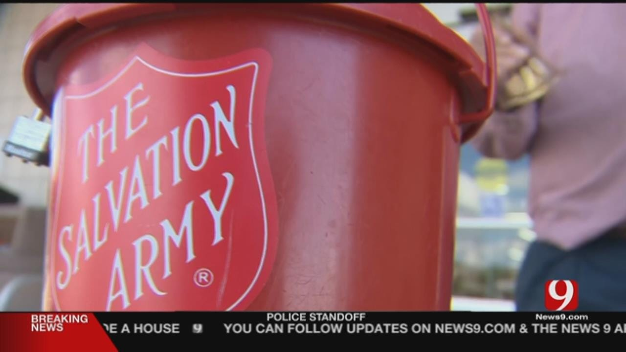 Robbers Steal Donations To Salvation Army From OKC Store