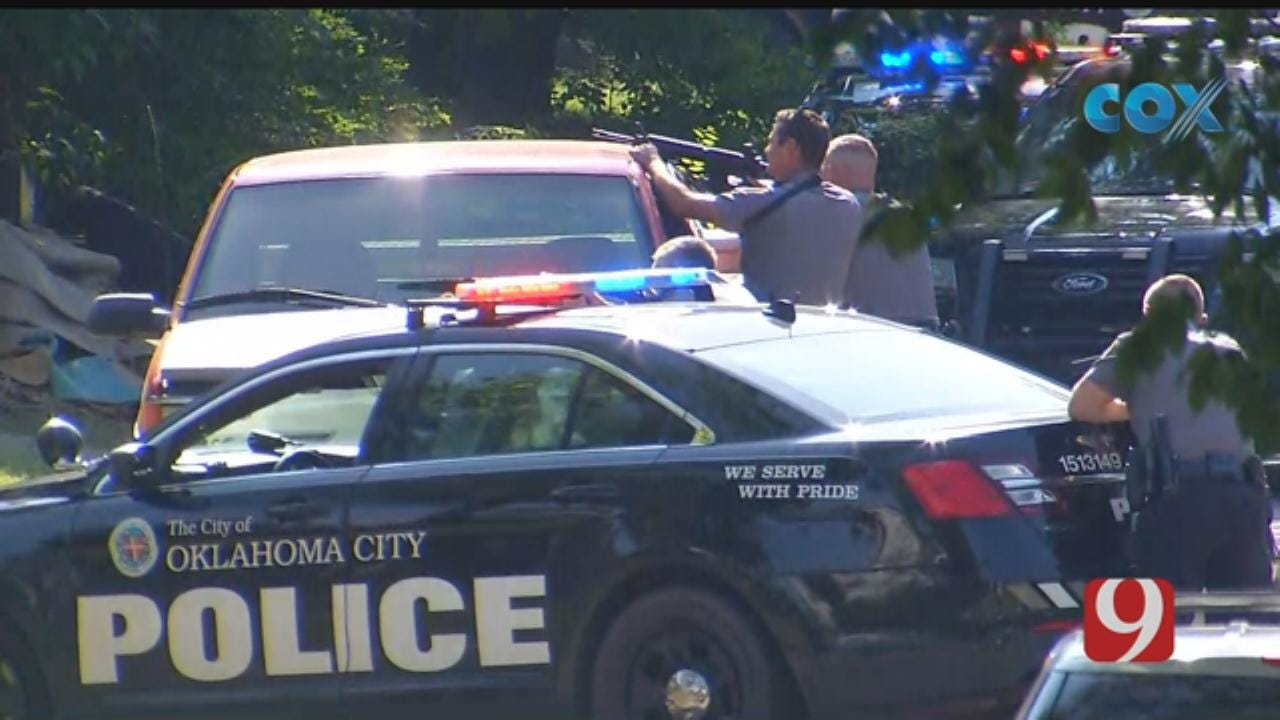 WEB EXTRA: Police Involved In NW OKC Standoff