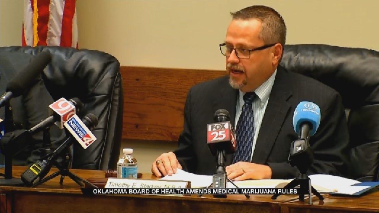 State Board Of Health Passes New Medical Marijuana Rules