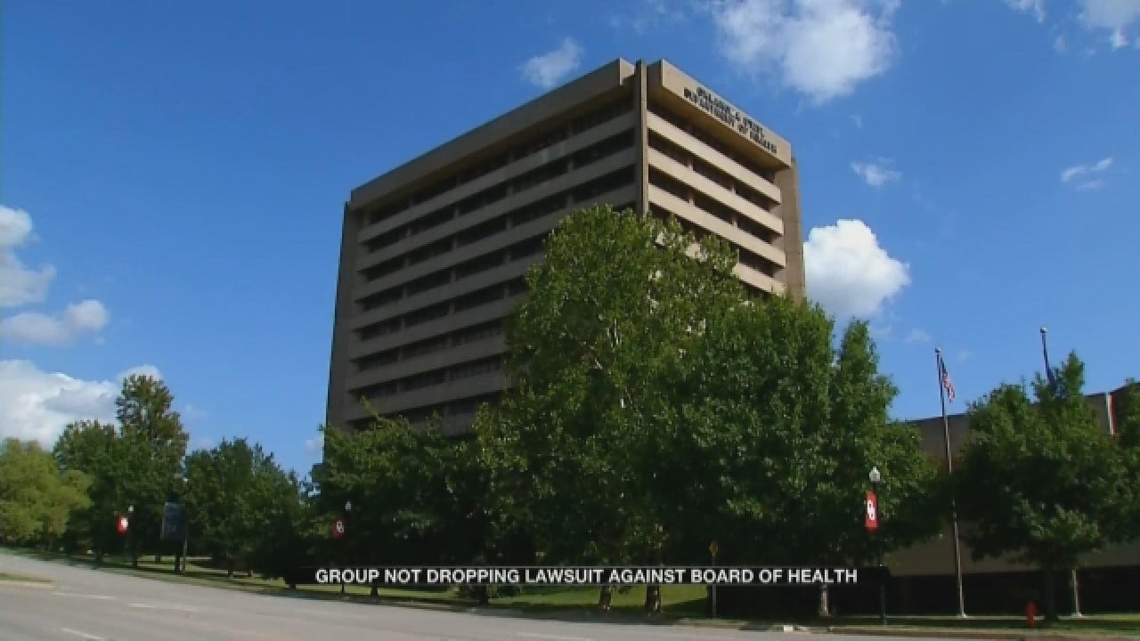 Local Group Not Dropping Lawsuit Against Board Of Health