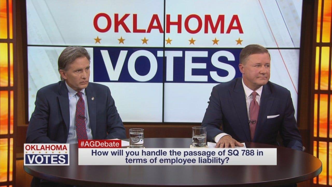 WEB EXTRA: OK GOP AG Debate: Medical Marijuana Employee Liability