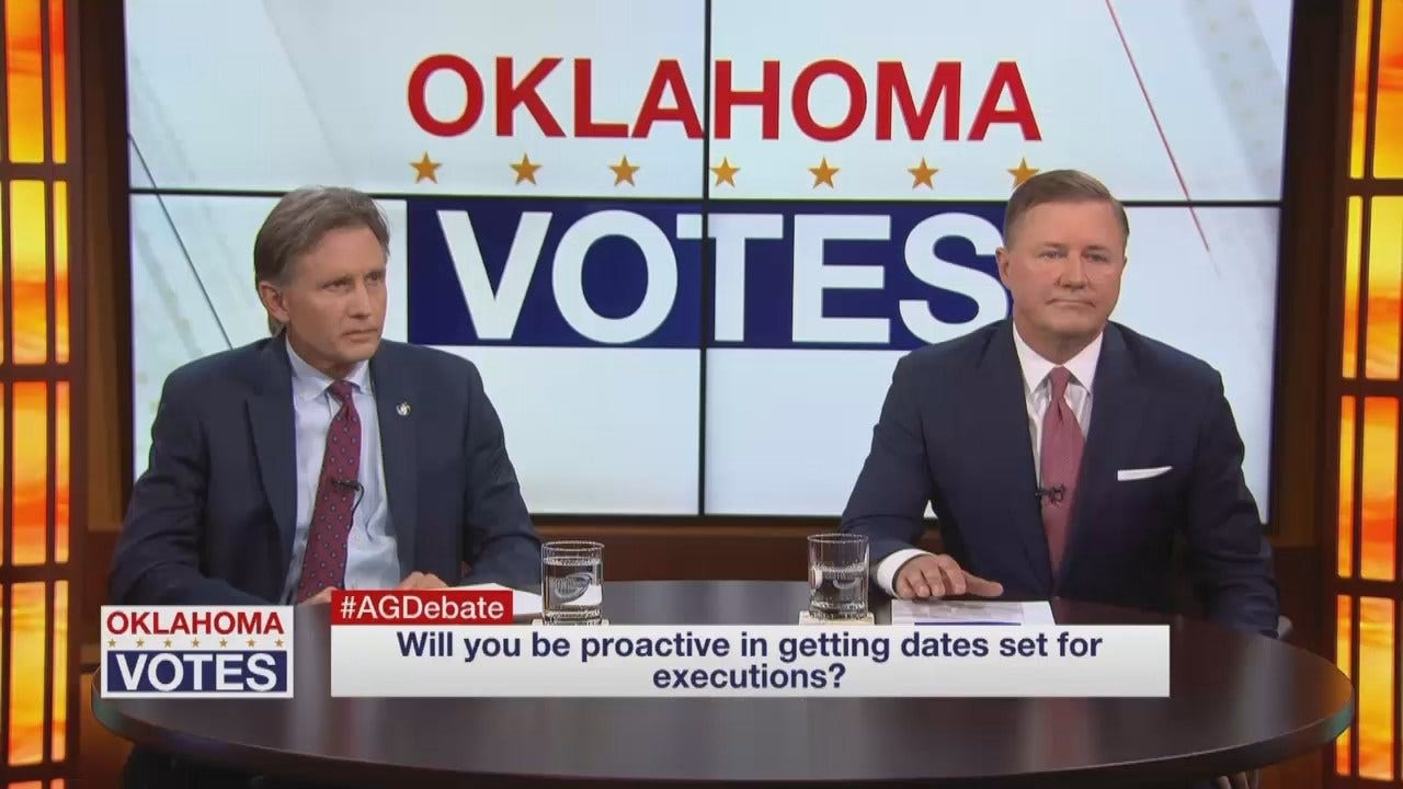 WEB EXTRA: OK GOP AG Debate - Executions