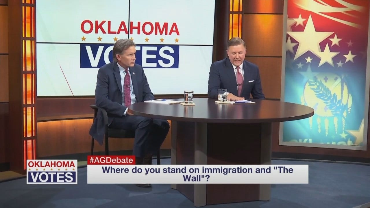 WEB EXTRA: OK GOP AG Debate: Immigration & The Wall