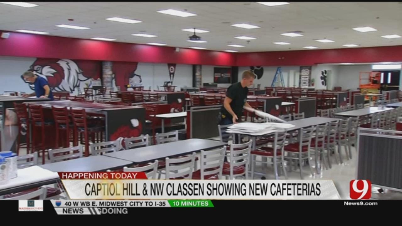 New Cafeterias At Two Metro High Schools