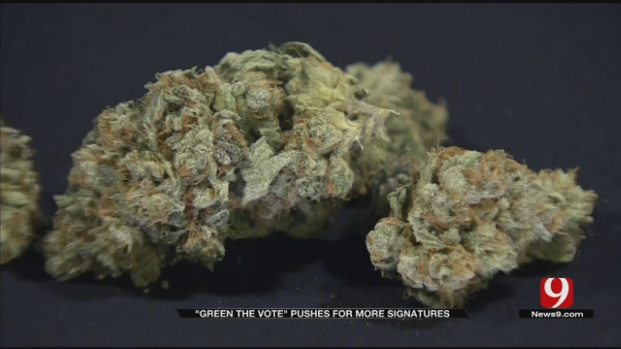 Volunteers Continue To Collect Signatures For Recreational Marijuana