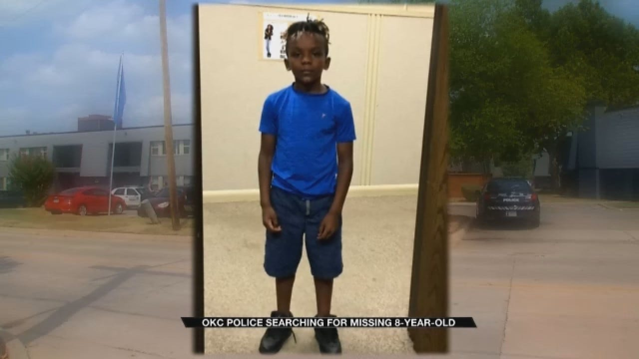 OKC Police Searching For Missing 8-Year-Old Boy