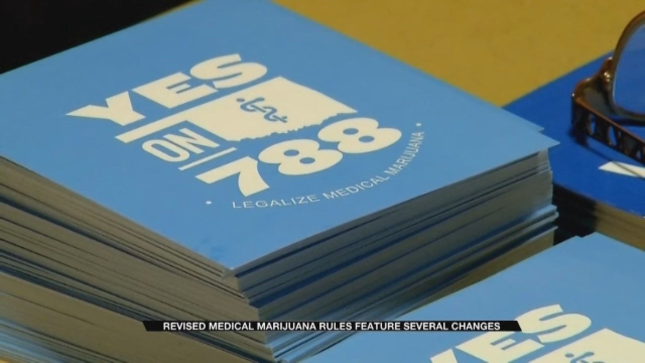 Revised Medical Marijuana Rules Feature Several Changes