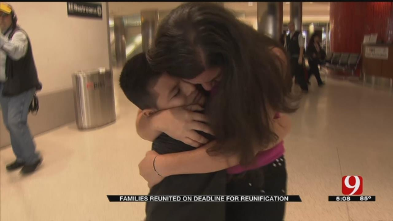 Immigrant Families Reunited On Deadline For Reunification